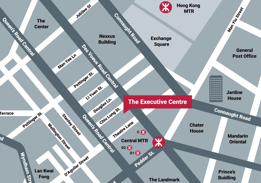 Map_The Executive Centre